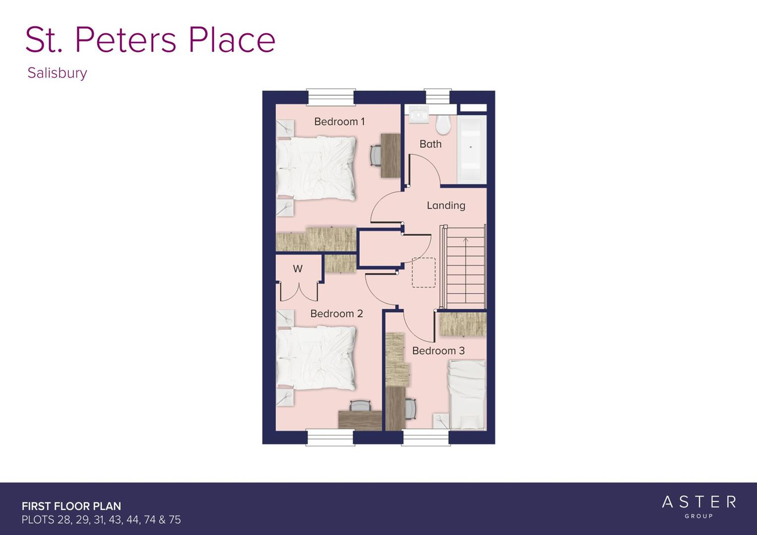 St. Peters Place, Salisbury_Plots 28, 29, 31, 43,